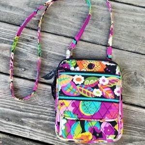 Vera Bradley cotton small crossbag